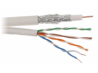 INTEGRATED CABLE RG 6 UTP 150